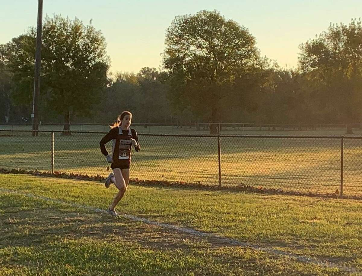 Cinco Ranch senior Sophie Atkinson repeated as District 19-6A champion, running a 16:40.9 on Oct. 30 at Bear Creek Park.