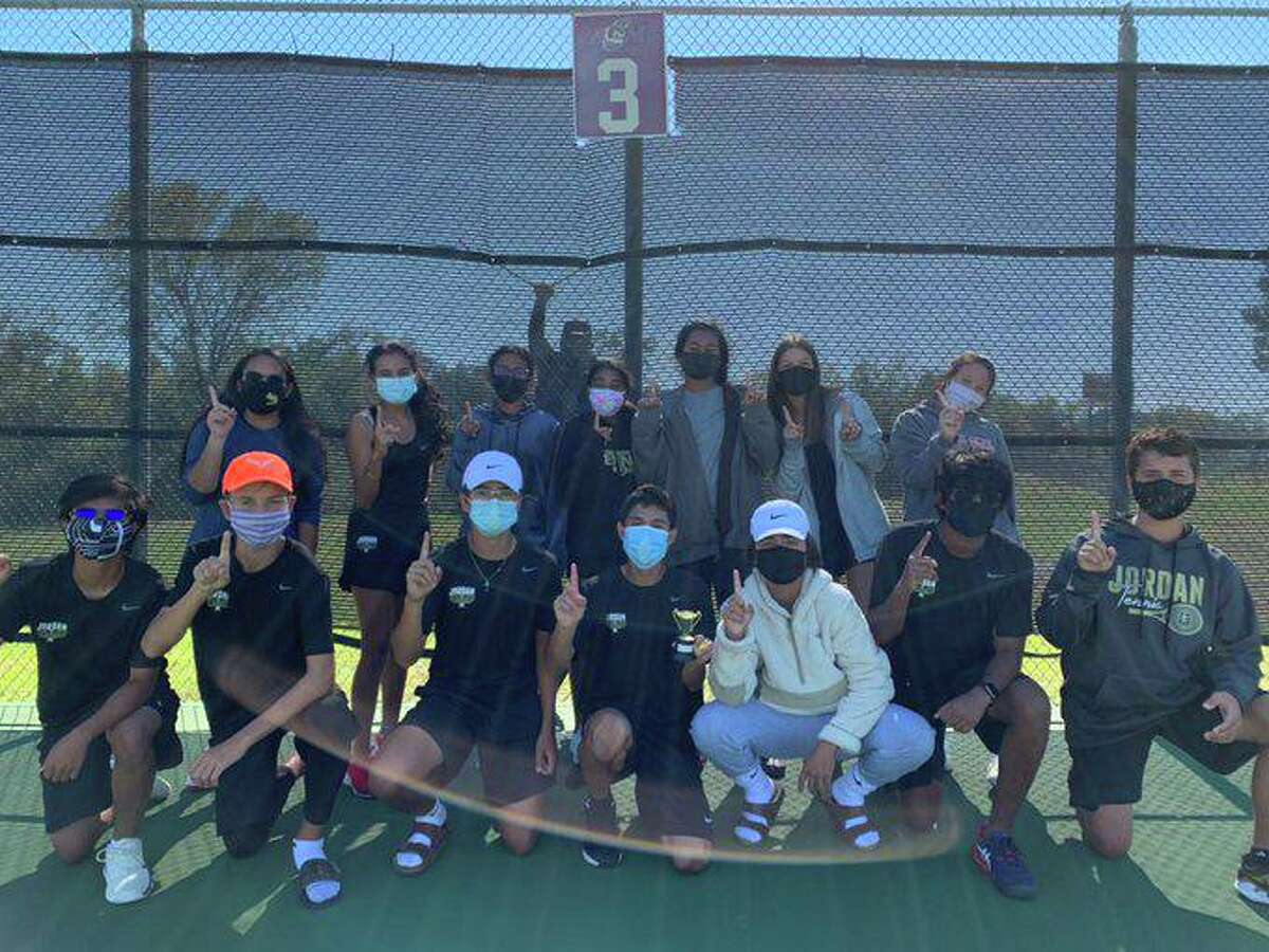 The Jordan High School tennis team defeated Austin LASA in a 10-9 thriller for the first area championship in school history. The Warriors are playing in their first season.