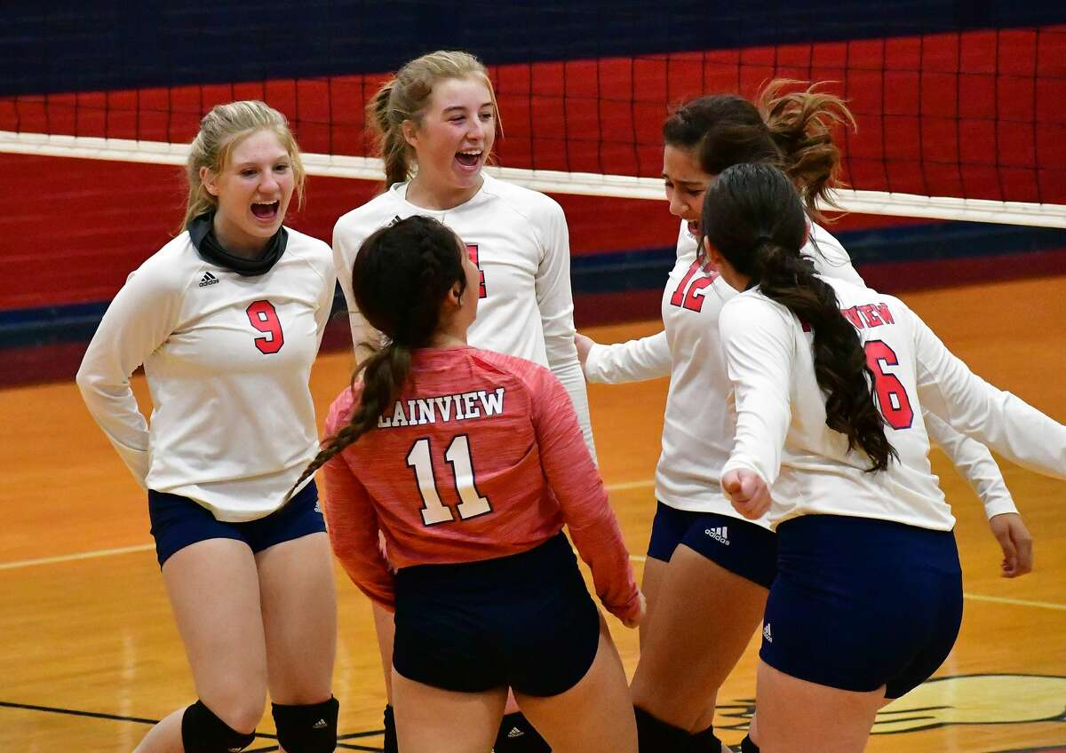 Plainview defeated Amarillo Palo Duro 3-0 in a District 3-5A volleyball match on Tuesday, Nov. 3, 2020 in the Dog House at Plainview High School.