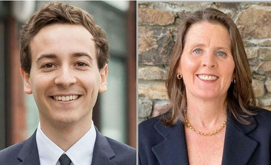 26th District: Democrat incumbent state Senator Will Haskell of Westport and Republican challenger Kim Healy of Wilton. Photo: File Photos
