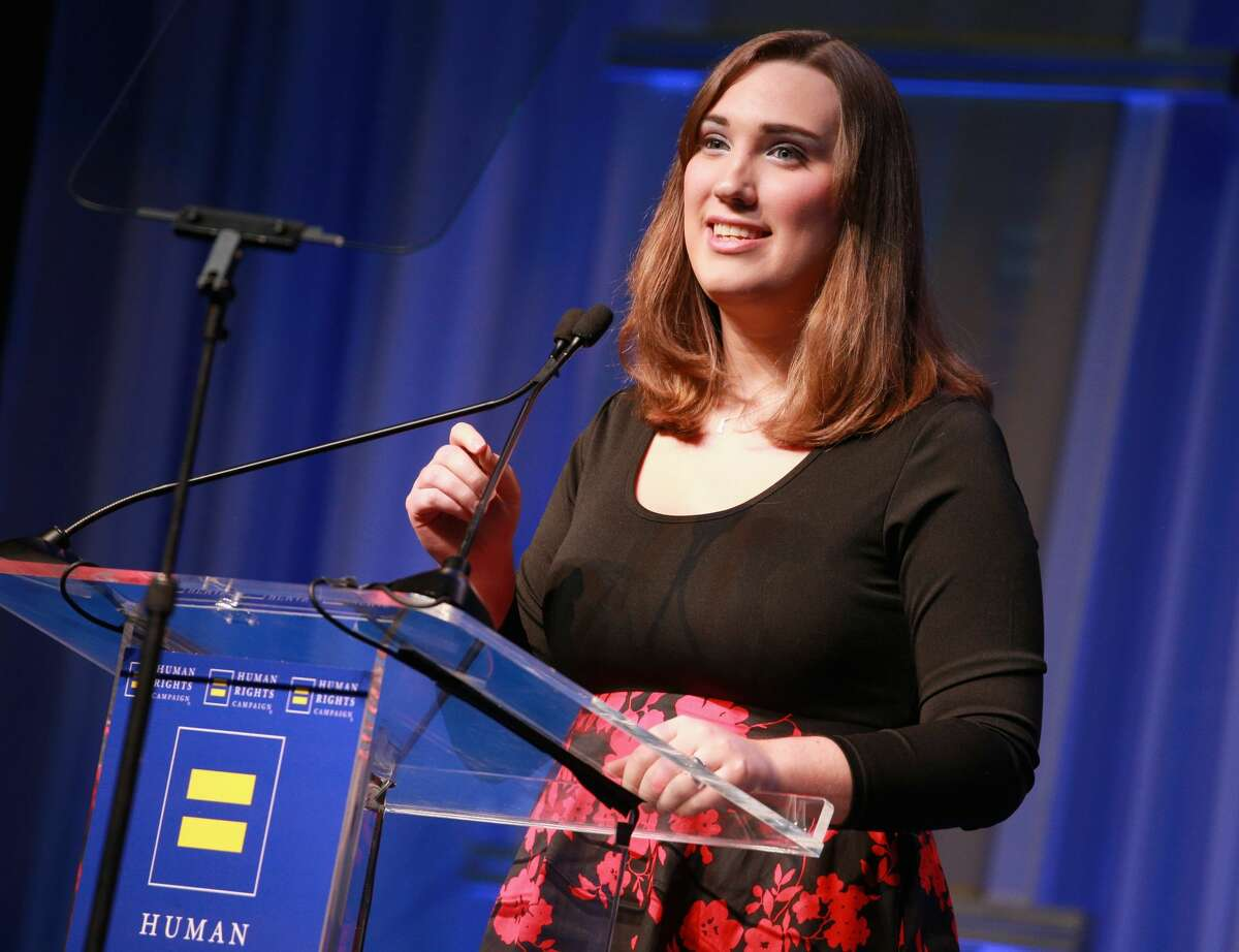 Delaware's Sarah McBride made history Tuesday night, becoming the first openly transgender state senator in U.S. history.