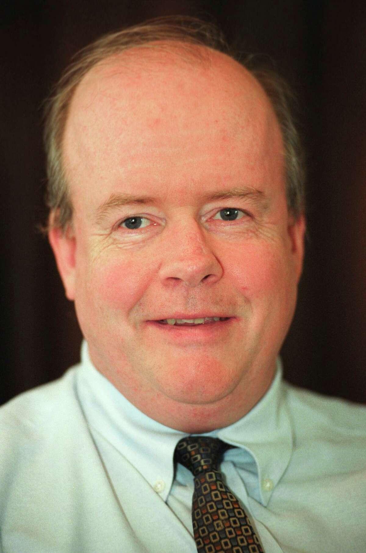 FILE PHOTO - 6/20/03 Robert T. Keeley, Jr., (D) Bridgeport Mayoral Candidate.