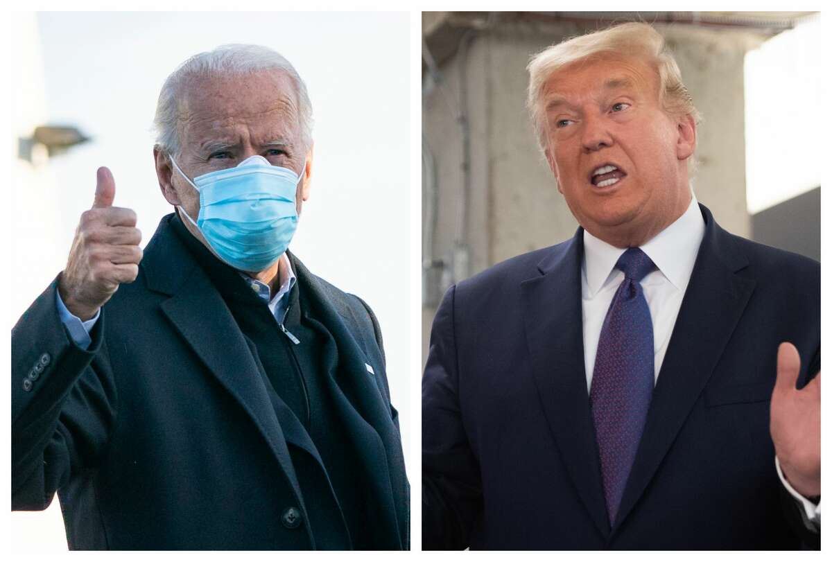 As election night turns to Wednesday morning, Joe Biden and Donald Trump trade blows in an ever-narrowing electoral college race for the presidency.