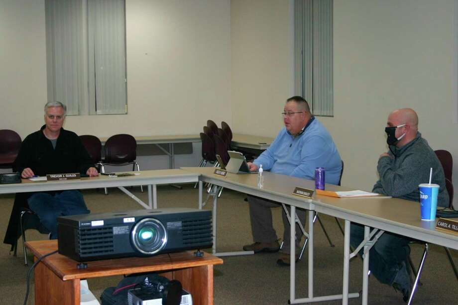 The Reed City city council adopted an amended meeting policy at a virtual special meeting on Oct. 28. (Herald Review photo/Cathie Crew)