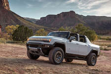 The Hummer EV, GMC's first all-electric vehicle, will sport removable roof panels.