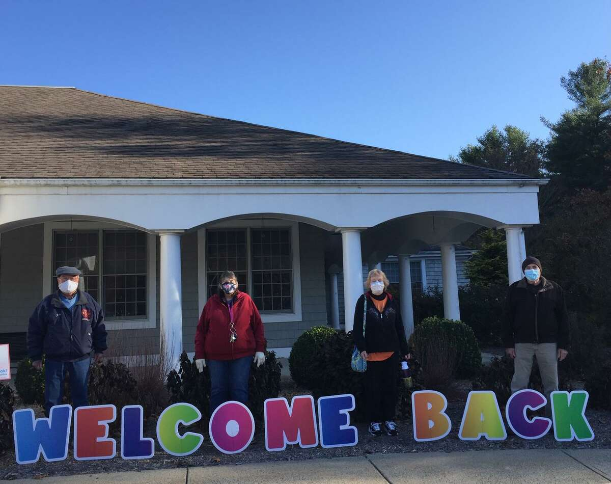 Seniors were welcomed back Wednesday, Nov. 4, to the Shelton Senior Center as it began its phase one reopening.