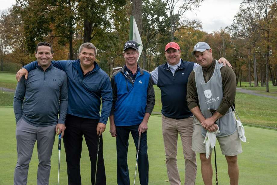 Robert Babkowski, Mark Keough, Chris Riendeaau, and John Cucci took second place in the Circle of Care golf tournament on Oct. 19 at Rolling Hills Country Club. Photo: Circle Of Care / Contributed Photo / Wilton Bulletin Contributed