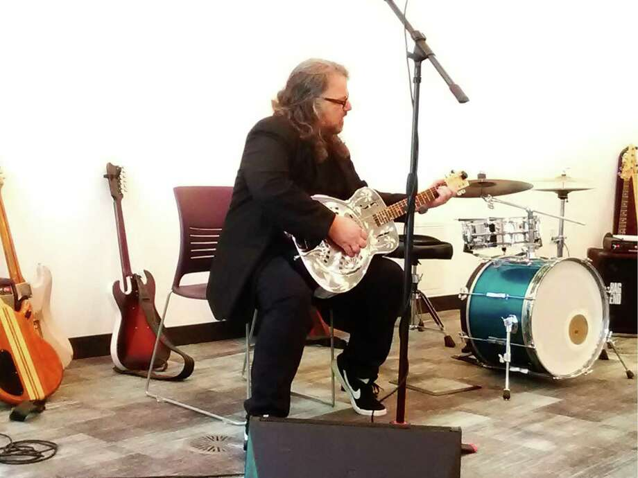"""The Ridgefield Library continues its Ridgefield Folk series Sunday, Nov. 8, at 2 p.m., with acclaimed guitarist and music historian Joey Leone who will present, """"The History of Blues in America,"""" an online program with live music segments. Photo: The Ridgefield Library"""