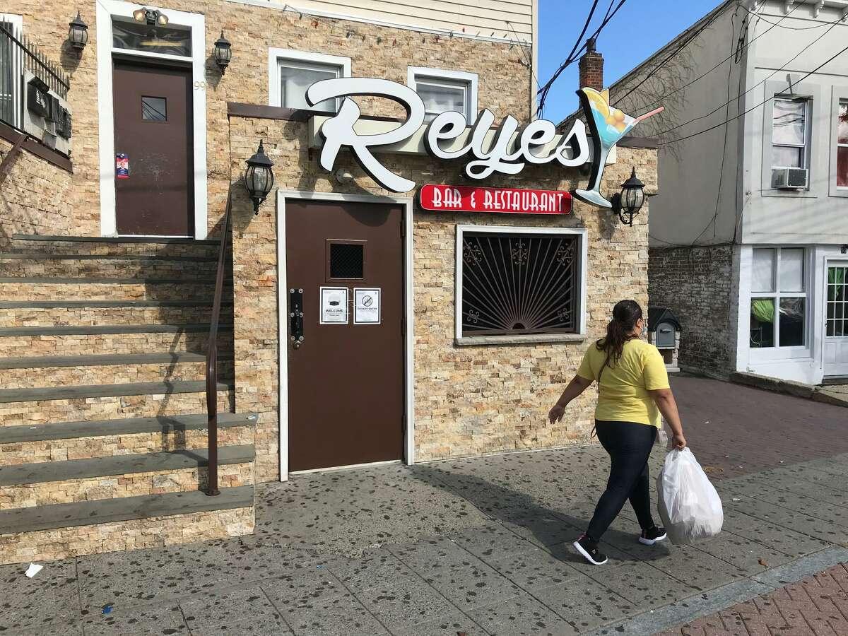 File photo of the Reyes Bar & Restaurant on Stillwater Avenue in Stamford, Conn.