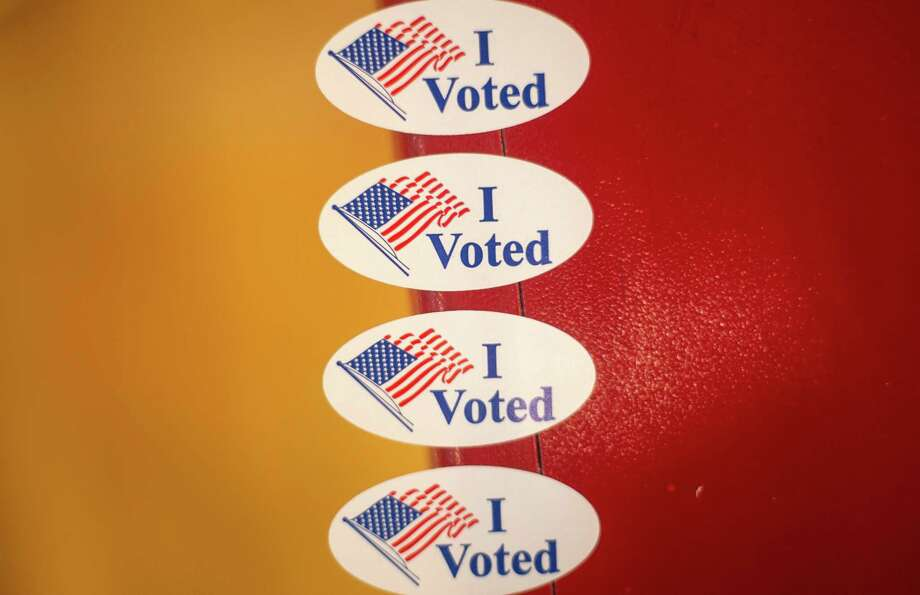 """""""I voted"""" stickers Photo: Getty Images / 2020 Getty Images"""