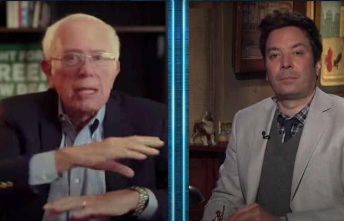 Bernie Sanders appeared on