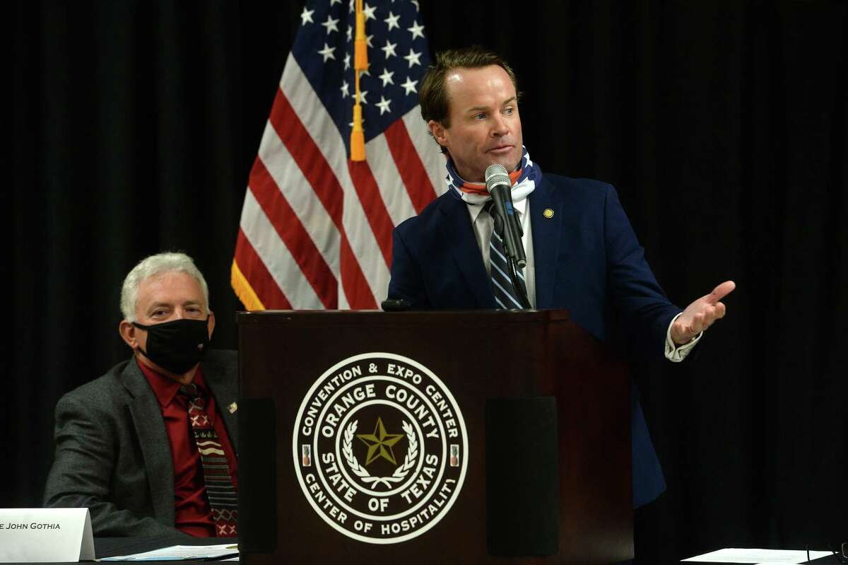 Texas Rep. Dade Phelan, R-Beaumont, announced in November 2020 that he has the support of more than 100 colleagues to be the next Speaker of the Texas House. Photo taken Monday, September 28, 2020.