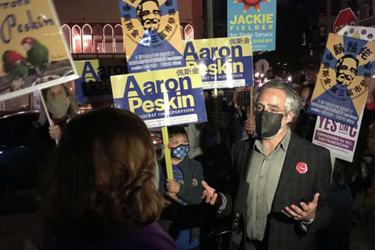 Aaron Peskin won re-election to the San Francisco Board of Supervisors.