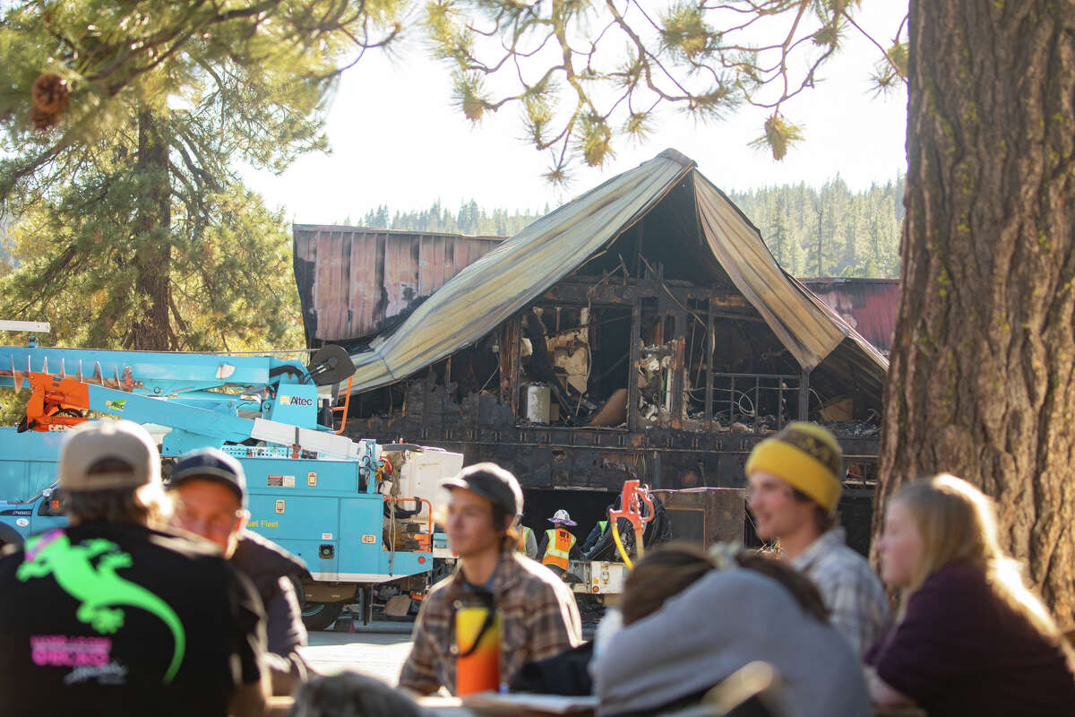 A sense of confusion and shock rests with a group of young residents at the Cisco Grove Campground after a recent fire.