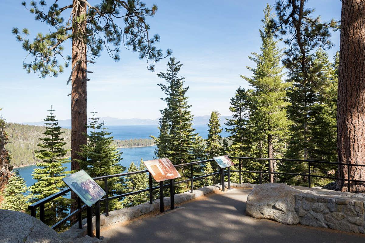 Emerald Bay State Park, South Lake Tahoe, Ca..