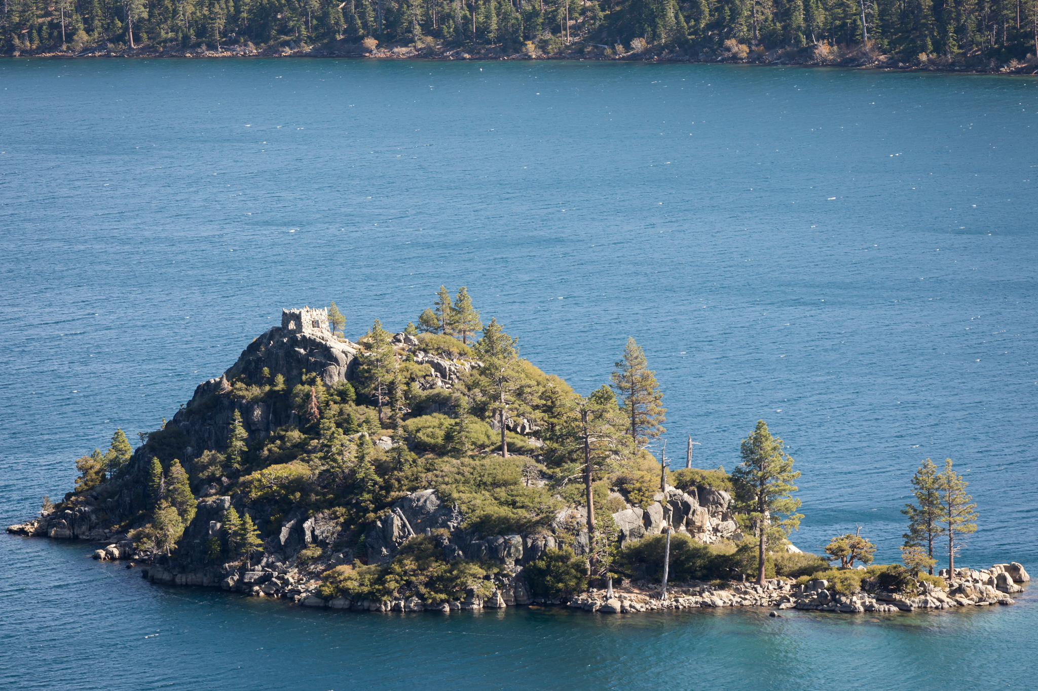 A fortune, a widow and a castle in Lake Tahoe's Emerald Bay