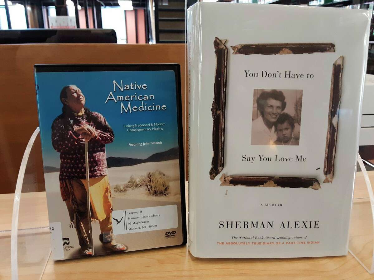 """""""You Don't Have to Say YouLove Me"""" by Sherman Alexie is a memoir of his childhood and his troubled relationship with hismother.Alexie also wrote """"The Absolutely True Diary of a Part-Time Indian,"""" a story about an attempt at a better life. (Courtesy photo)"""