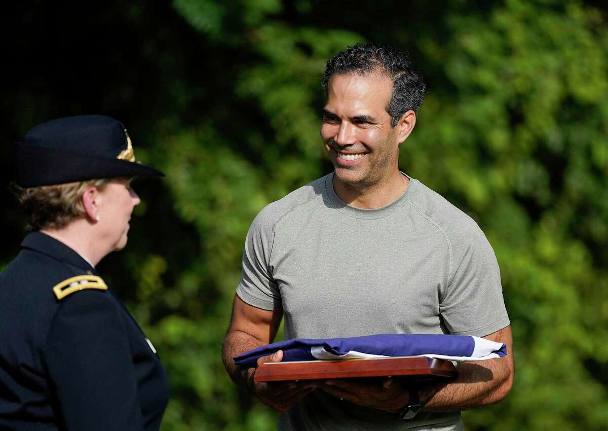 Texas Land Commissioner George P. Bush, pictured here in 2019, said his office agreed to a 30-day extension to allow the city and the GLO to finalize a deal to divide up more than $1 billion in federal funding.