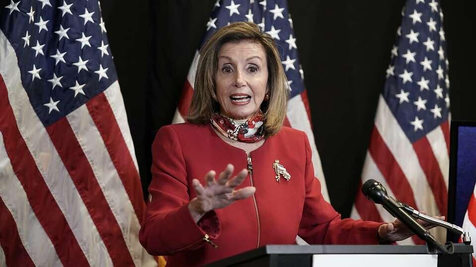 Nancy Pelosi wins narrow re-election as House speaker