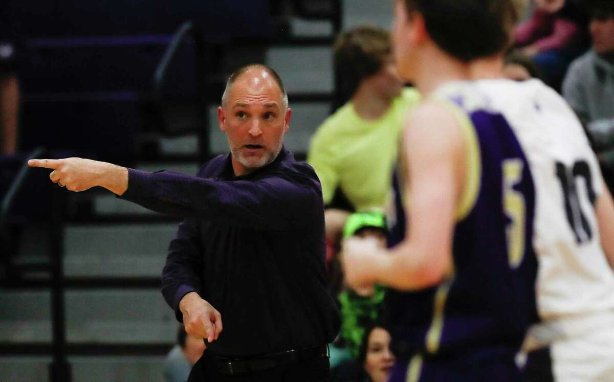 Willis head boys basketball coach Michael Storms, shown here in the winter of 2020, will leave the program after eight years to become a lead teacher at Willis ISD's HOPE Academy.