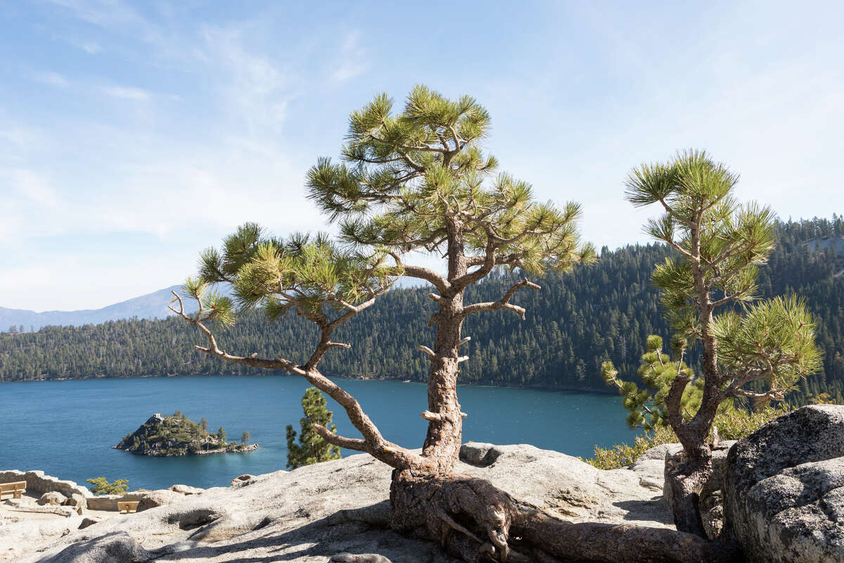 Emerald Bay State Park is one of the most popular destinations in Lake Tahoe.