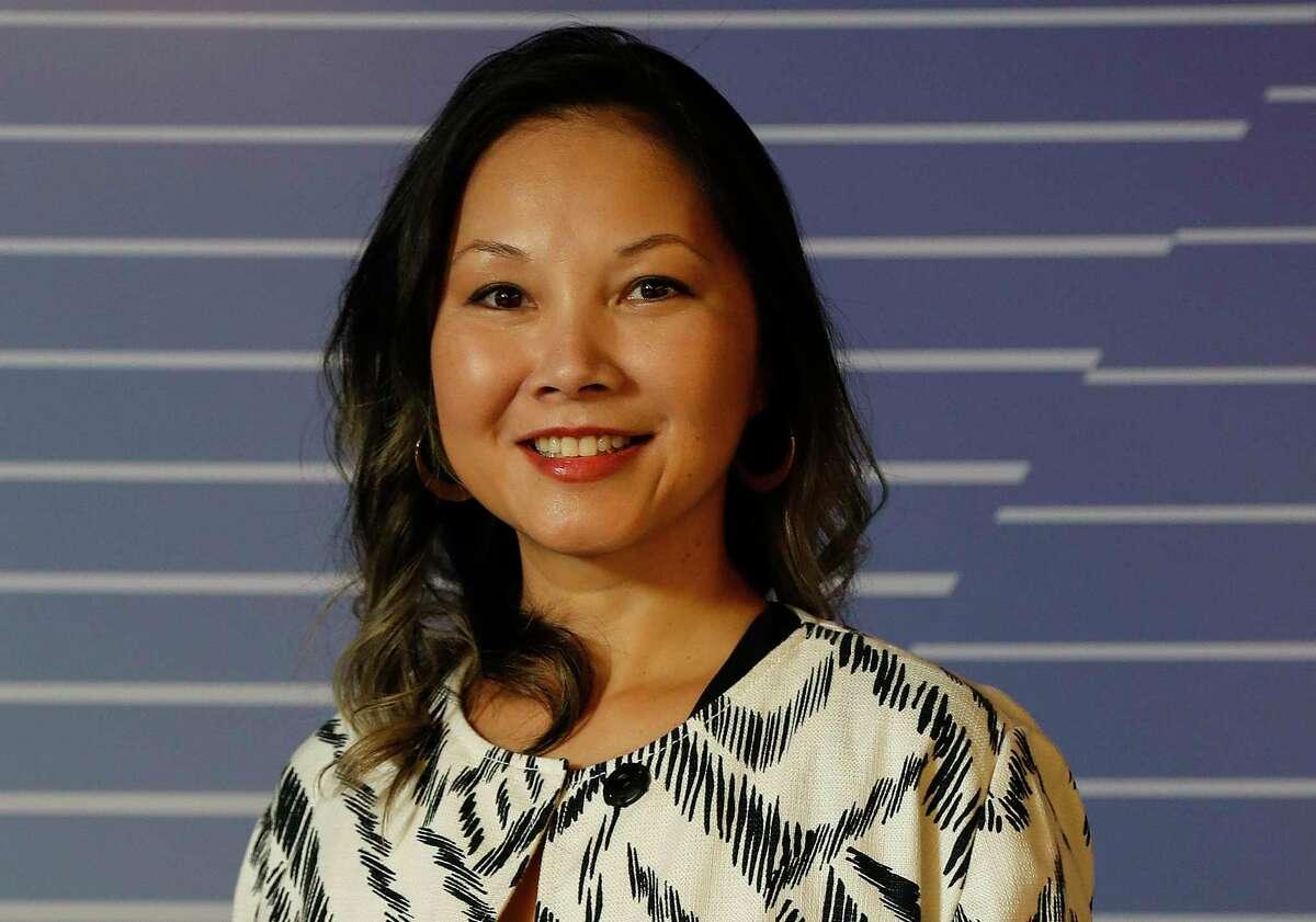 Grace Rodriguez, CEO of Impact Hub Houston, Thursday, September 17, 2020, in Houston.
