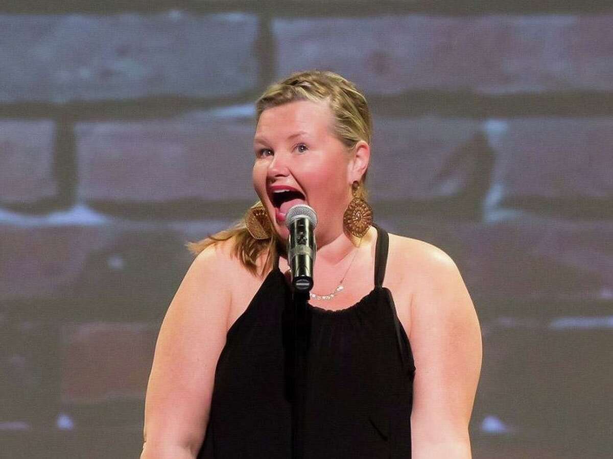 Christine O'Leary, an award-winning comedian who lives in New Fairfield, will host