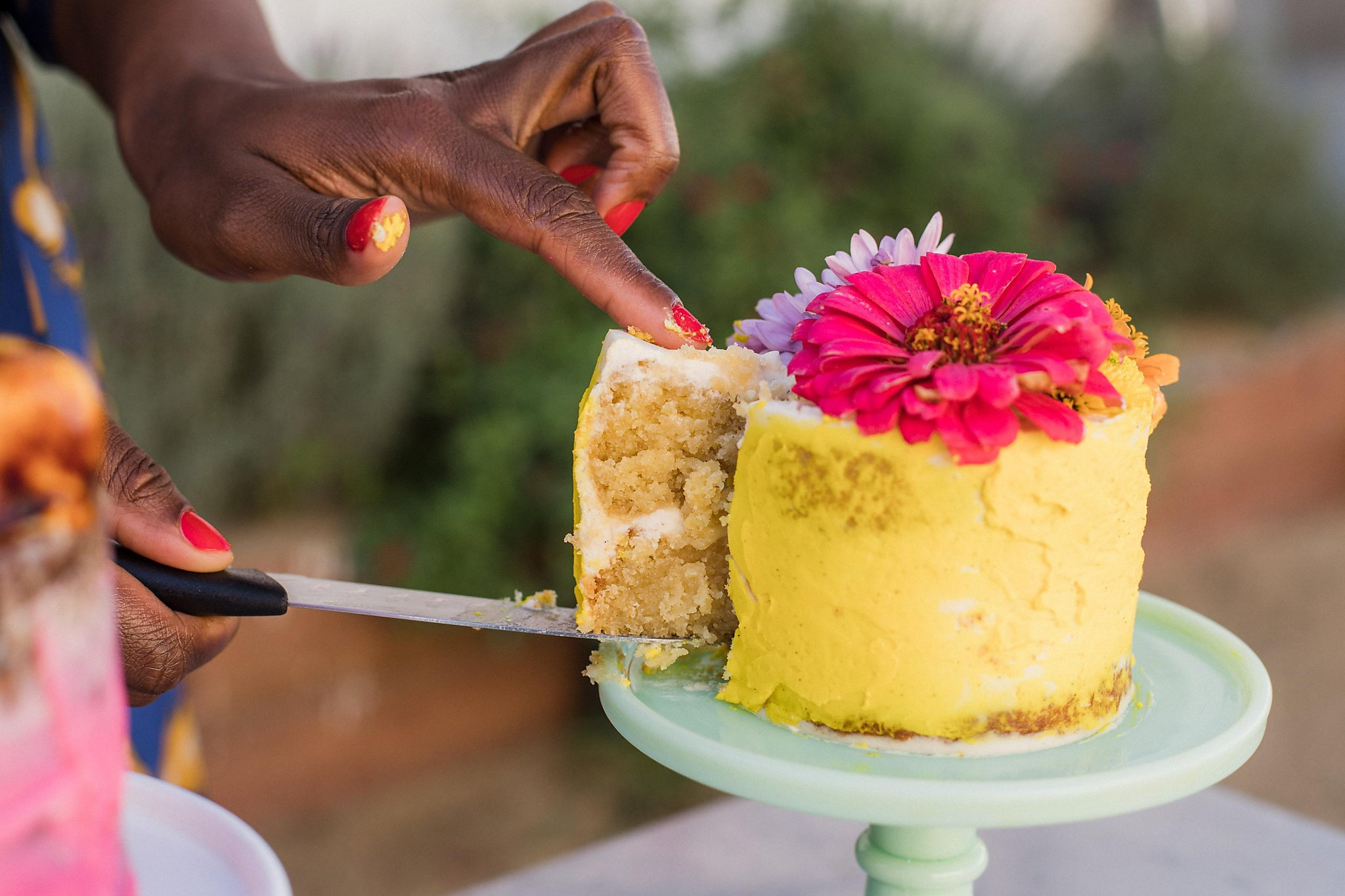 This Oakland bakery's showstopping floral cakes combine California produce with Black food culture