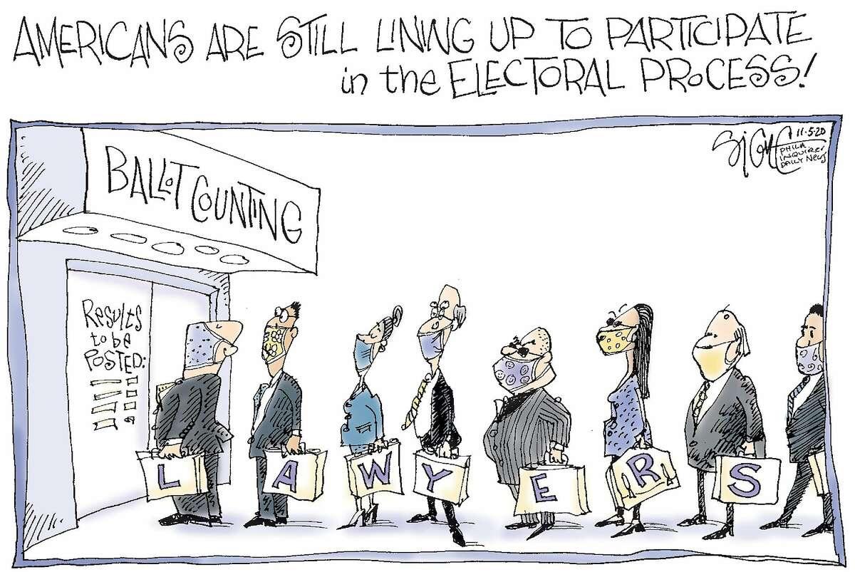 Signe Wilkinson cartoon