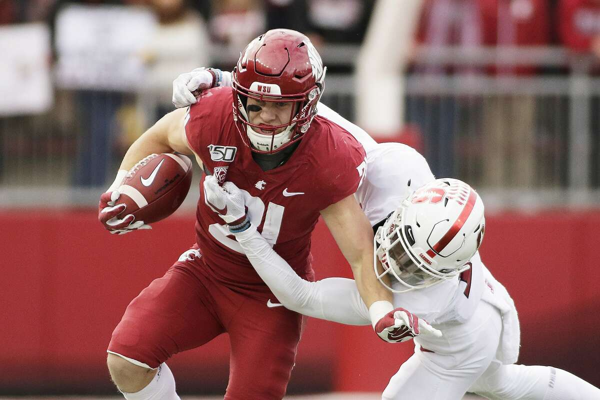 Washington State running back Max Borghi is likely to get more rushing attempts under coach