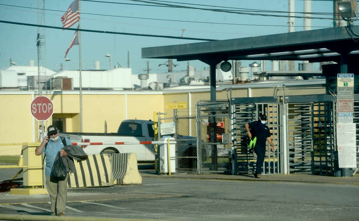 Mitsubishi Chemical has announced it plans to close the Lucite International plant between located between Beaumont and Nederland. They determined that the cost to improve the facility exceeded potential revenue. Photo taken Wednesday, November 4, 2020 Kim Brent/The Enterprise