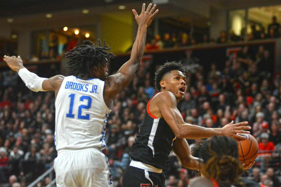 Texas Tech sophomore Terrence Shannon, Jr. was named to the preseason watch list for the Julius Erving Small Forward Award on Wednesday. Photo: Nathan Giese/Planview Herald