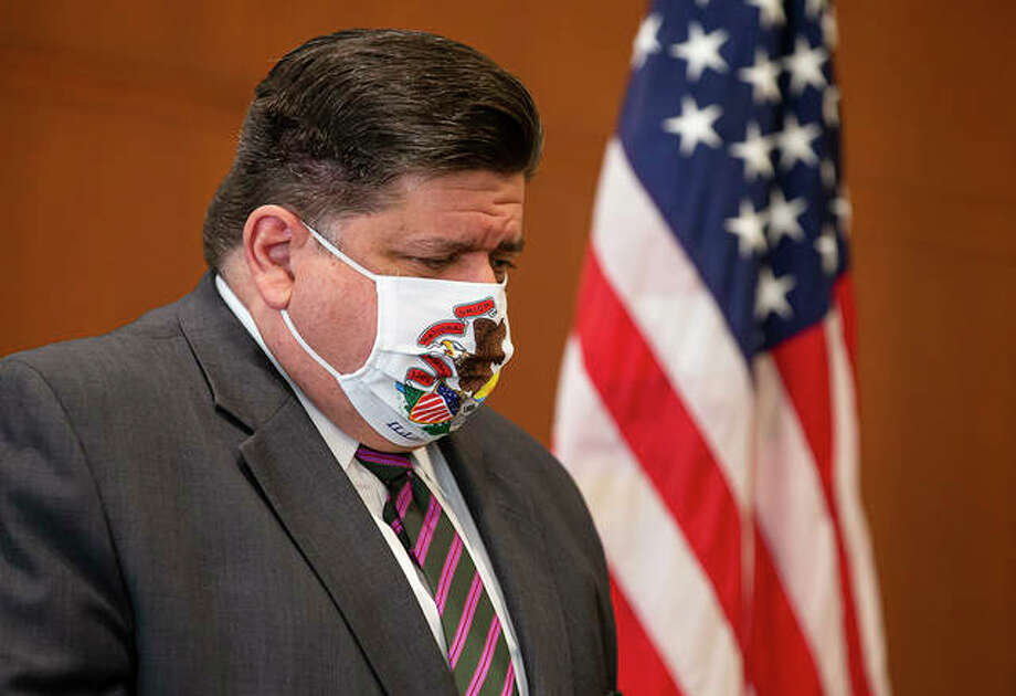 Voters have rejected a proposal to abolish Illinois' flat-rate income tax for one that would take a greater share from wealthier taxpayers. The outcome of Tuesday's vote handed Gov. J.B. Pritzker the first major defeat of his 22-month tenure. Photo: Justin L. Fowler | State Journal-Register (AP)