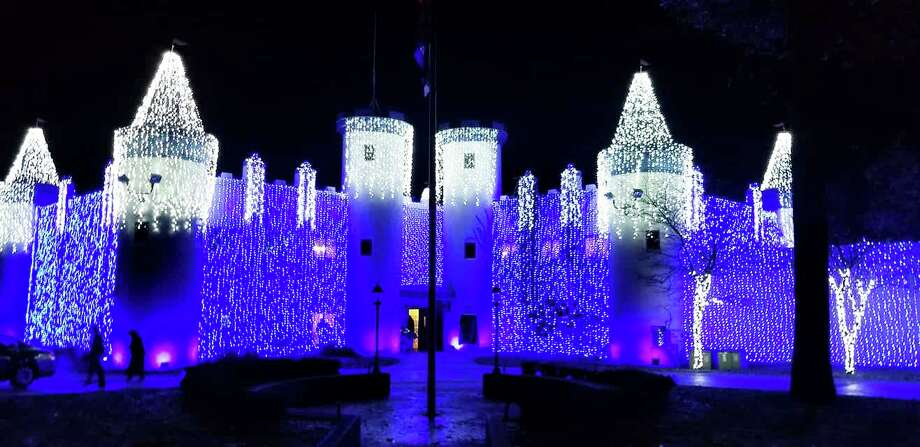 Nights of Lights at the Castle in Canadian Lakes features over 100,000 LED lights. The fun returns Nov. 27 and runs through Dec. 26. (Courtesy photo)