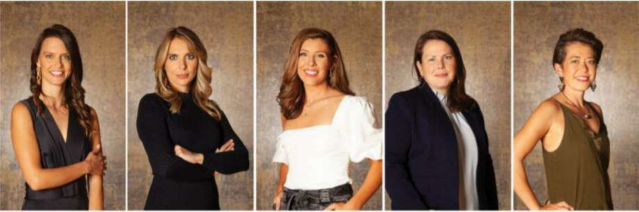 New England Home magazine's 2020 5 Under 40 award winners for its 2020 5 Under 40 Awards are: Jesse Carroll, Elizabeth Hendrickson, Stephanie King, Emily Pinney and Alina Wolhardt. People are going to have the opportunity to meet the five winners in a virtual event on Thursday, Nov. 5. The winners will also share their favorite projects as well as their insight into the future of architecture and design. Attendees to the event will have early access to the online auction for the winners' custom designed rugs. Photo: Contributed Photo