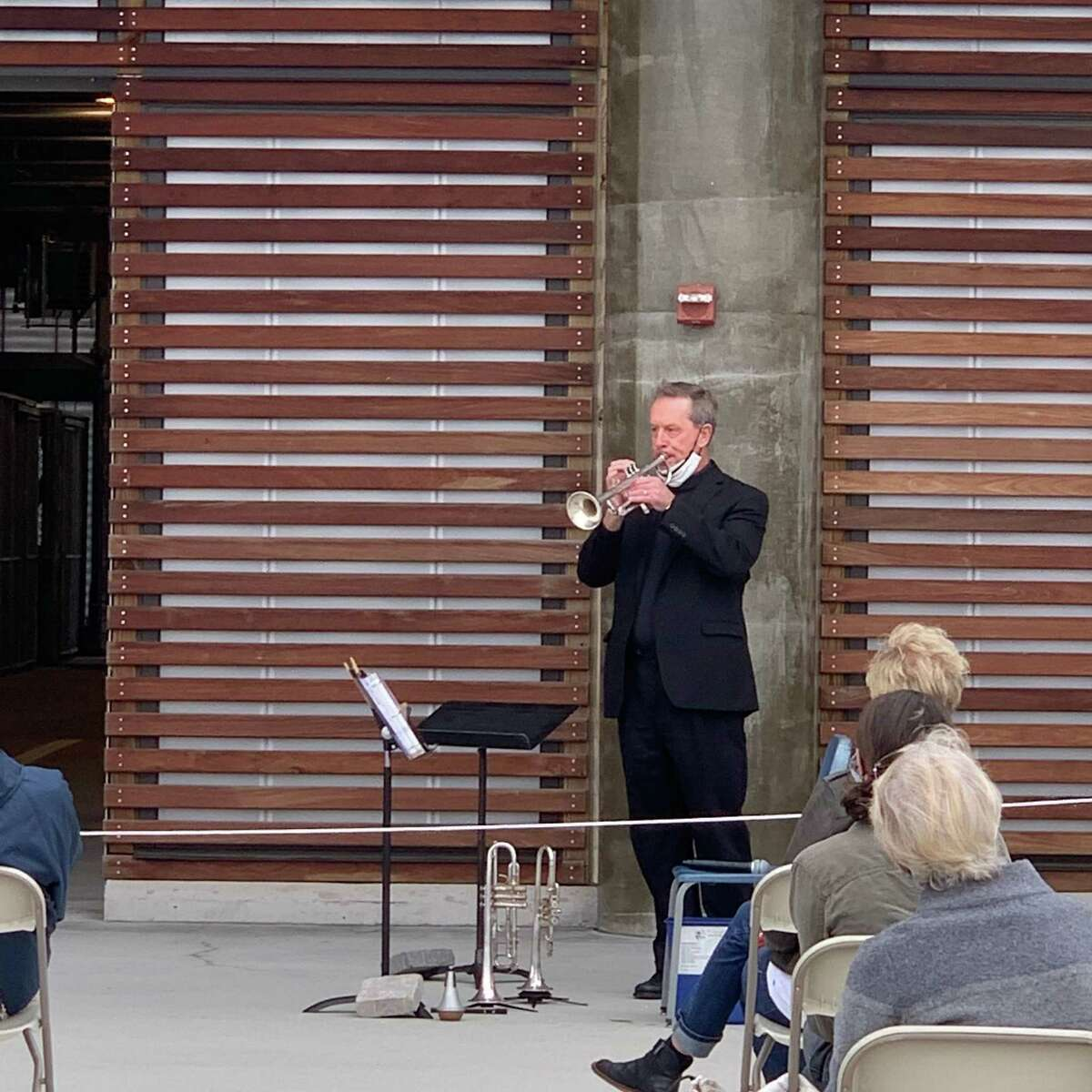 The New Haven Symphony has offered outdoor performances at Canal Dock in New Haven.