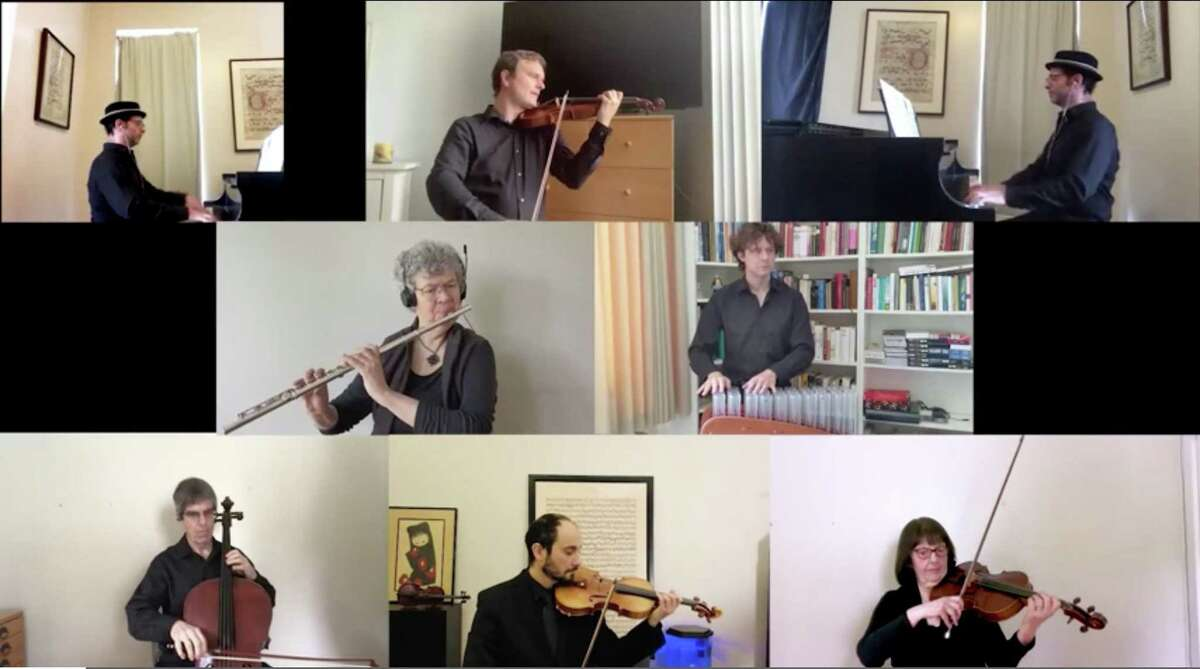 The Norwalk Symphony Orchestra had seven musicians perform a virtual concert for the Maritime Aquarium at Norwalk performing pieces like