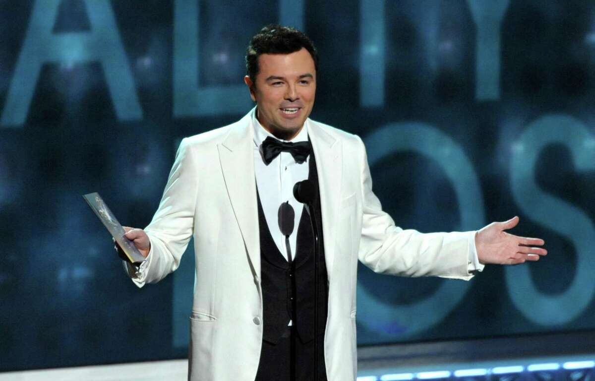 Seth MacFarlane presenting an award at the 64th Primetime Emmy Awards at the Nokia Theatre in Los Angeles. MacFarlane may not live in Connecticut anymore (he has lived in California for several years and bought a home on Malibu Beach as recently as 2019), but he did grow up in the small town of Kent that has a population of about 3,000 people. His mother spent time working at both the South Kent School and later the prestigious Kent School, where MacFarlane would attend and graduate from. The school's alumni includes fellow writer and producer Peter Farrelly (Dumb and Dumber, There's Something About Mary, among others), singer Lana Del Ray, actor Ted Danson, and numerous professional athletes and politicians.
