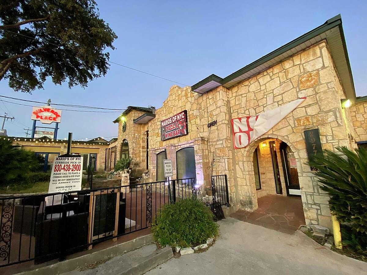 Mario's Pizza & Wine Bar opened in February in Bulverde.