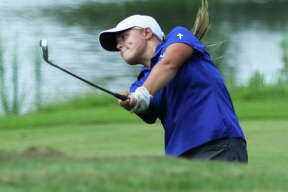 Marquette Catholic's Audrey Cain is one of the area golfers who will play in this weekend's Gateway PGA High School Championship. Play begins Friday at Spencer T. Olin Golf Course in Alton and concludes Saturday at Sunset Hills Country Club in Edwardsville.