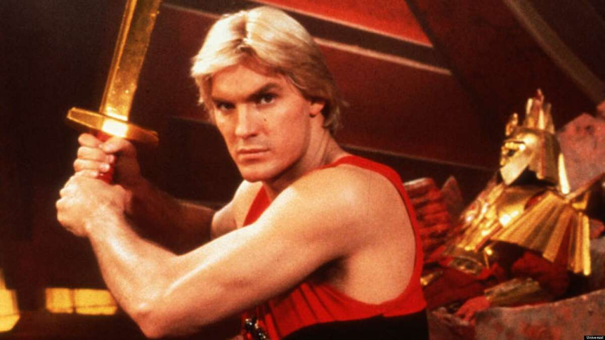 Sam Jones as Flash Gordon in the 1980 film
