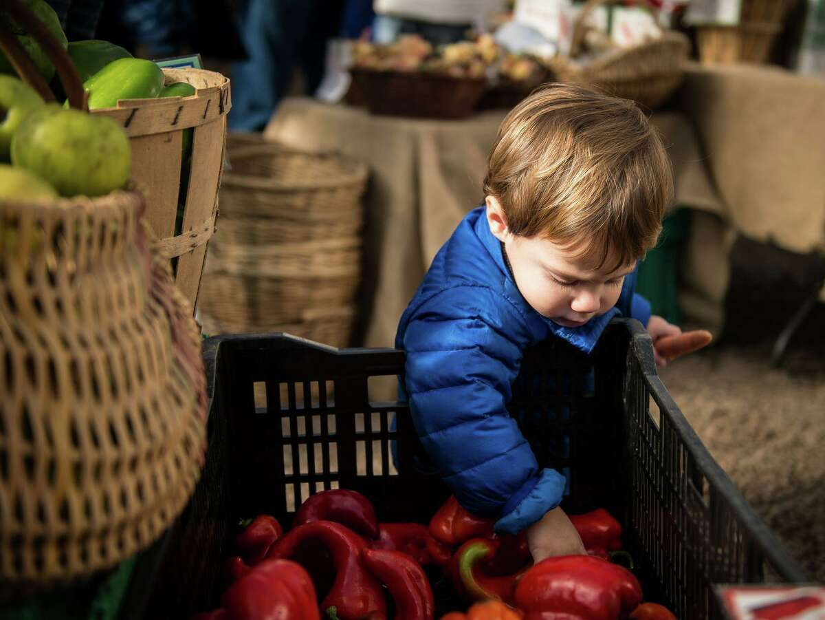 Locally grown fruit and vegetables are featured at Connecticut farmers markets, some of which will remain open through the winter.