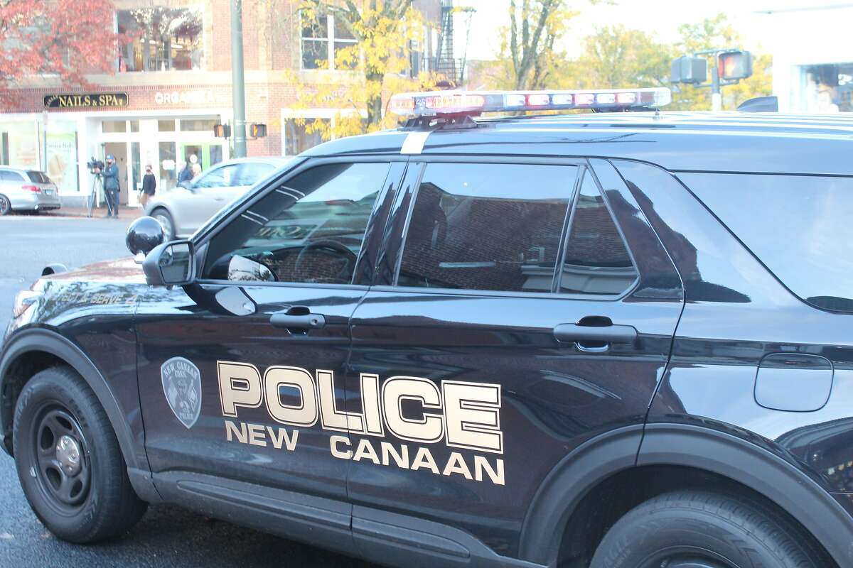File photo of a New Canaan Police vehicle.