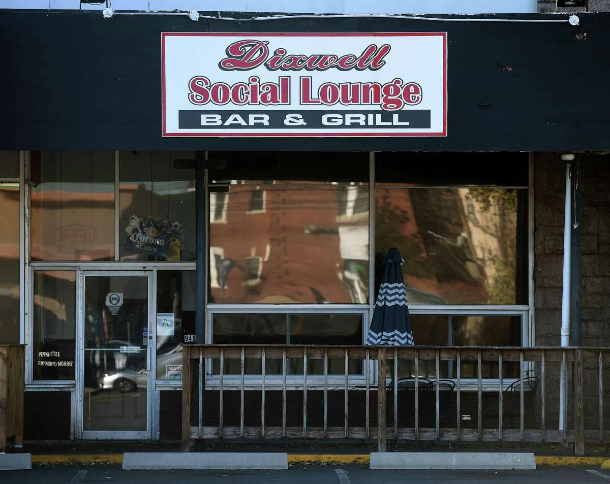 The Dixwell Social Lounge on Dixwell Avenue in Hamden photographed on November 5, 2020.