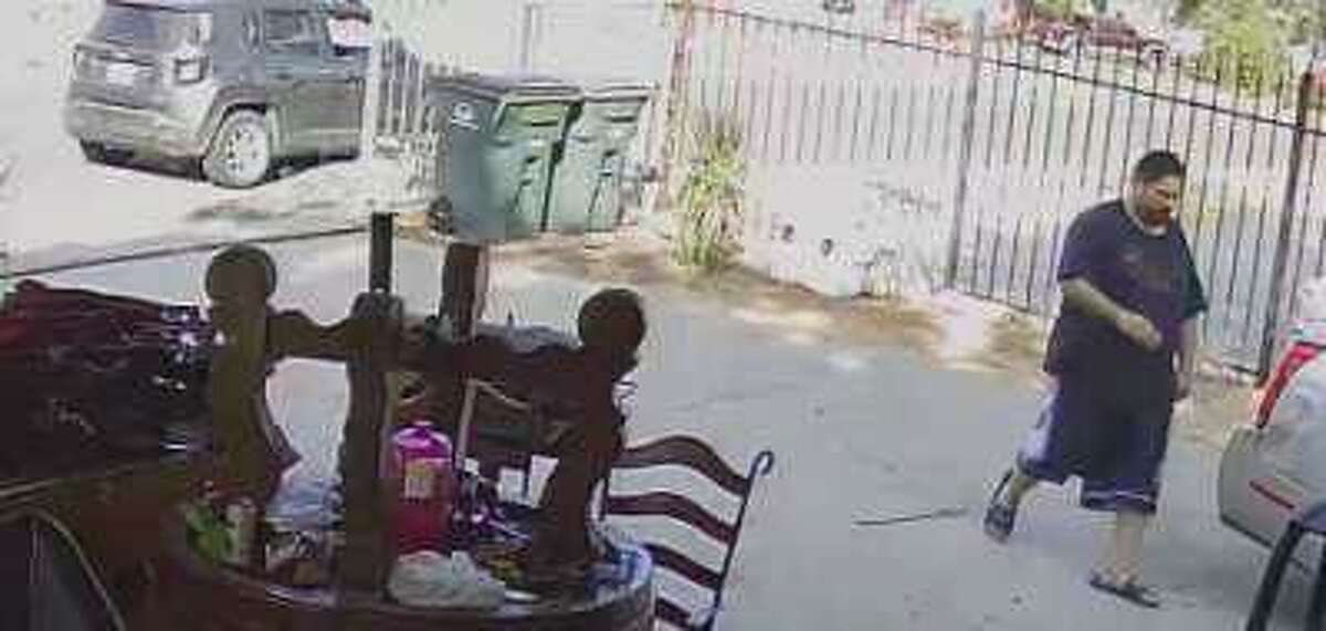 Laredo police said they need to identify this man in connection with a YETI ice chest theft case.