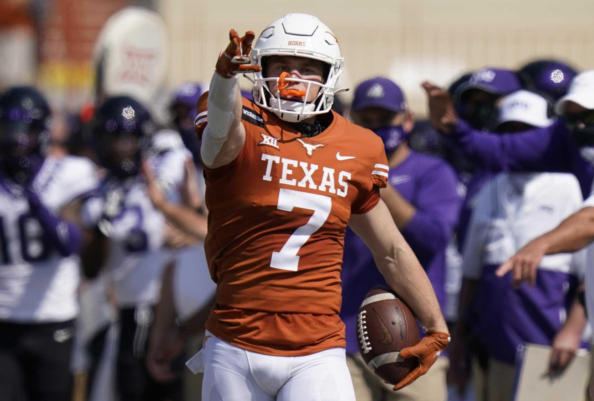 Texas receiver Jake Smith enters name in transfer portal