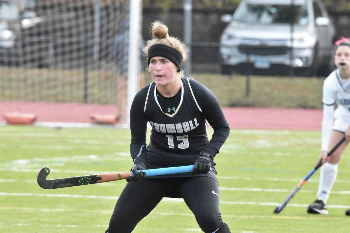 Trumbull's Gianna Socci had a goal and two assists to help the unbeaten Eagles defeat Ludlowe this past week.