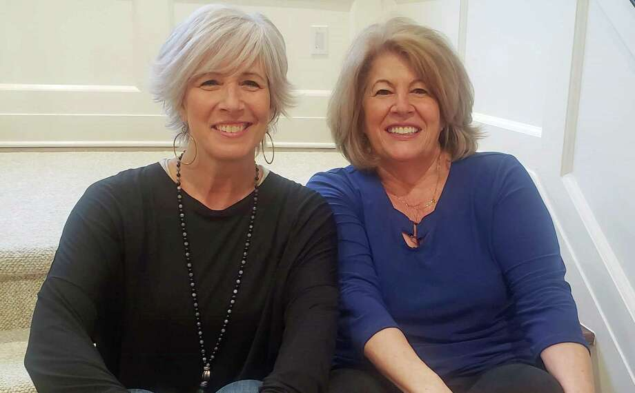 Nancy Carr (left) and Roseann Benedict (right), co-founders of the annual Sip & Shop event, which raises money each year to support local businesses and cancer research. Photo: Contributed / Contributed Photo / Greenwich Time