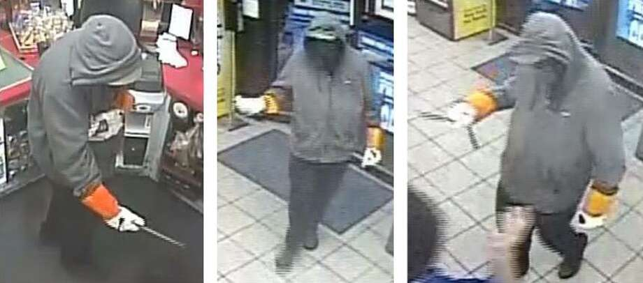 Laredo police need to identify this person in connection with an aggravated robbery at a local convenience store. People can report the suspect's identity with LPD at 795-2800 or Laredo Crime Stoppers at 727-TIPS(8477). Photo: Courtesy Photo /Laredo Police Department