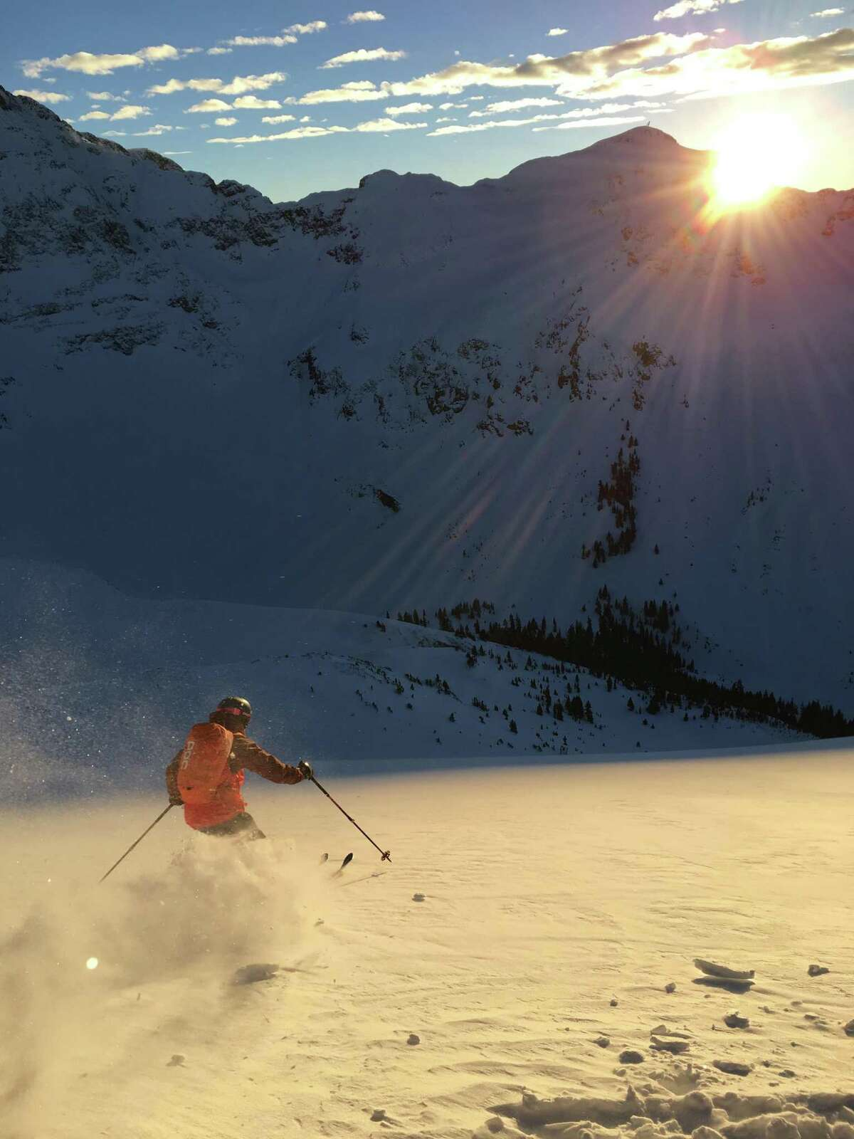 Silverton Mountain is the largest ski area in North America with more than 26,000 acres.